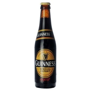 Guiness special export stout